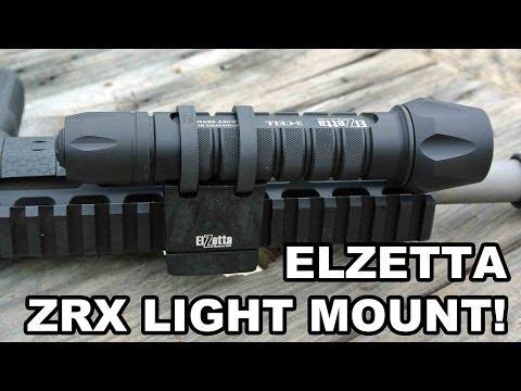 Elzetta ZRX Tactical Flashlight Mount