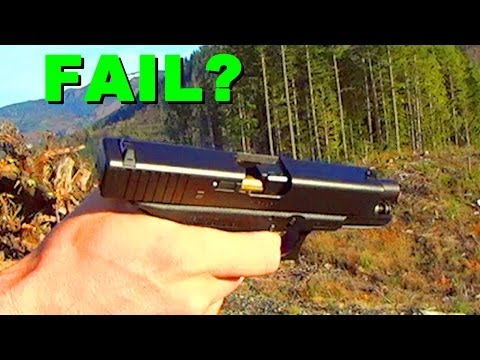 Glock 19 Limp Wrist Failure