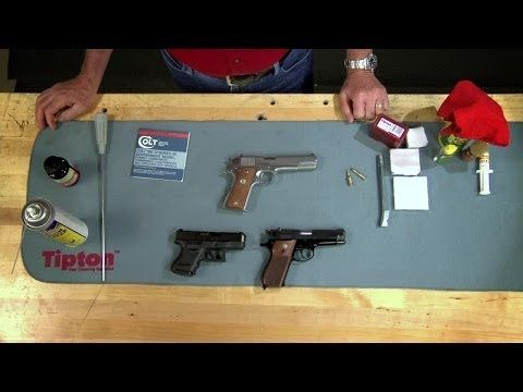 How to Clean a Semi-Auto Handgun