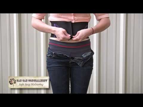 How To Wear the Can Can Concealment Holster