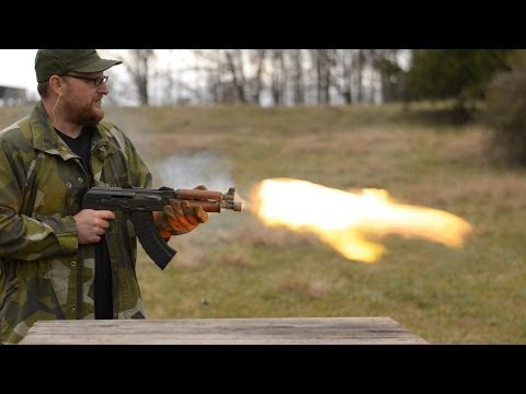 Mikhail Kalashnikov Tribute – 700 AK Rounds