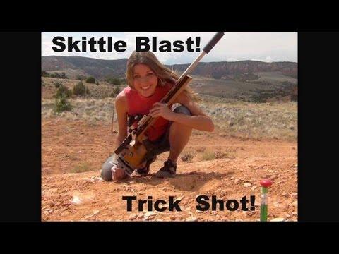 Kirsten Joy Weiss Skittle Trick Shot
