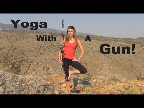 Kirsten Joy Weiss Yoga Pose Trick Shot
