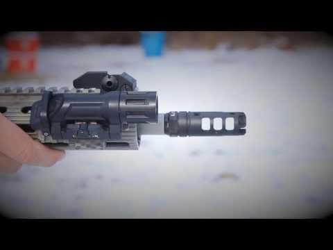 Lantac Dragon Muzzle Brake vs SureFire MB556K Muzzle Brake