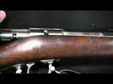 Model 1871 Ward-Burton Bolt-Action Rifle