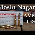 Mosin Nagant Ammo Test - Winchester 7.62 x 54R 180 Grain Soft Point