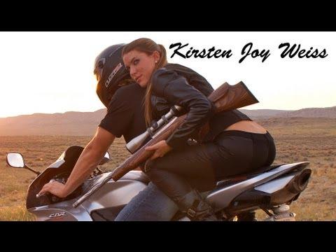 Motorcycle Trick Shot by Kirsten