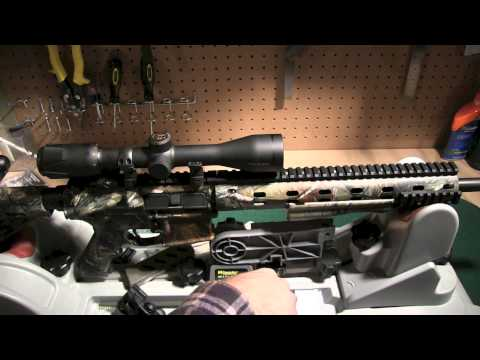 Mounting an AR-15 Riflescope