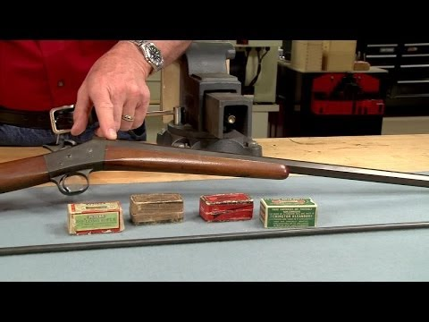 Relining a Rifle Barrel