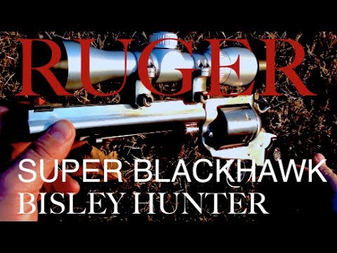 Ruger Super Blackhawk Bisley Hunter Single-Action Revolver