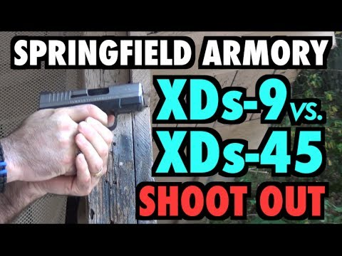 Springfield XD-S 9mm vs XD-S 45