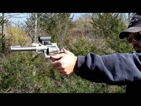 Super Redhawk 44mag with Aimpoint T1