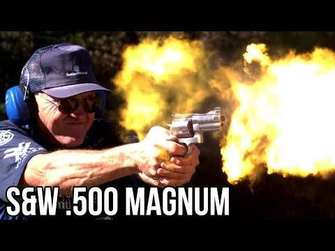 S&W 500 Speed Shooting