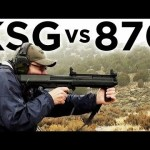 Tactical Shotgun Comparison - Kel-Tec KSG vs Remington 870