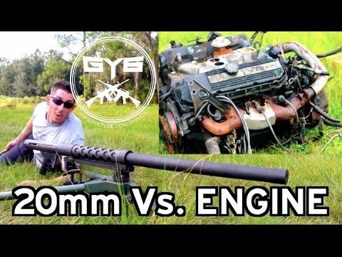 Serbu Typhon 20mm Cannon vs Engine