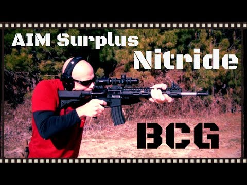 AIM Surplus Nitride Bolt Carrier Group