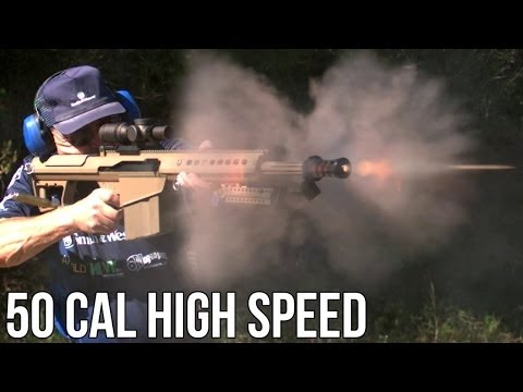 Barrett 50 Cal Speed Record
