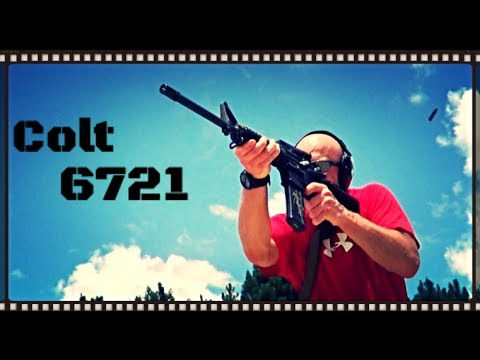 Colt AR 6721 Rifle – Heavy Barrel