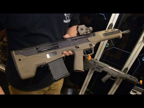 Desert Tech - SRS-A1 Covert, HTI, R7S, MDR