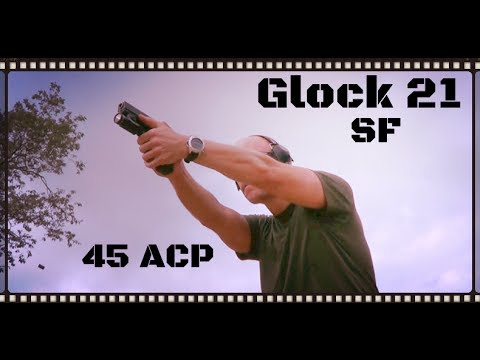 Glock 21 SF Review