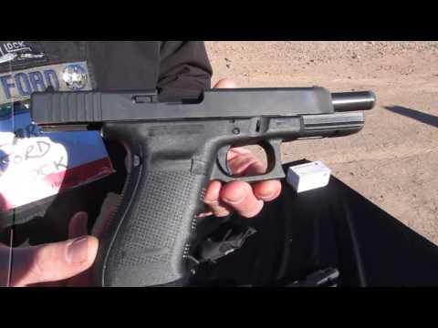 Glock 41 Shooting Demo