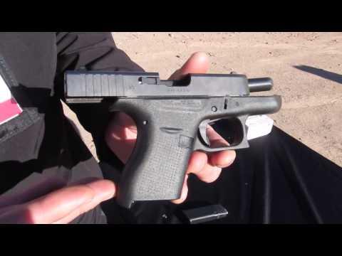 Glock 42 Shooting Demo