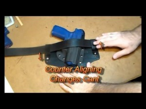 H.H. Holsters - Ranger Hybrid Holster Adjustment