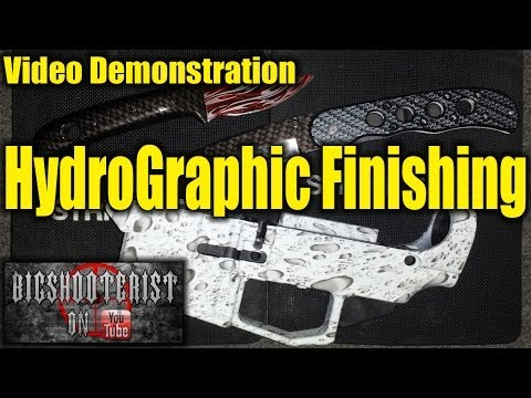Hydrographic Finishing for Firearms