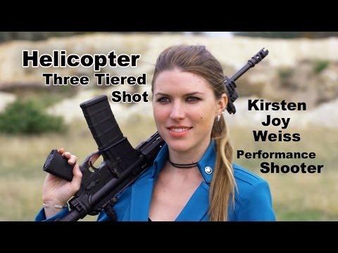 Kirsten Joy Weiss – Helicopter Target Practice