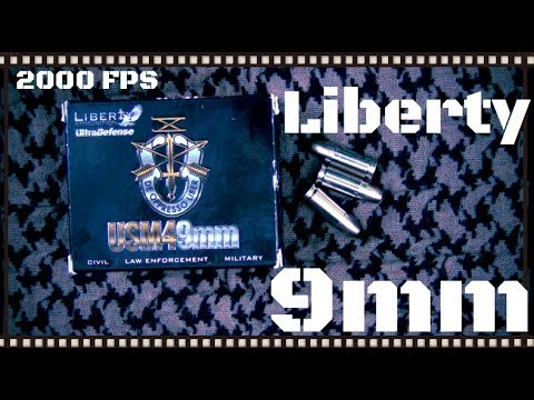 Liberty Ultra Defense USM4 9mm Ammo Test