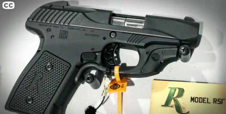 Remington R51 9mm Pistol