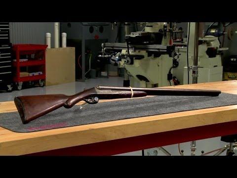 Repairing a Remington 1900 Double Barrel Shotgun