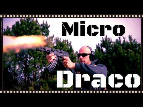Romanian Micro Draco AK Pistol