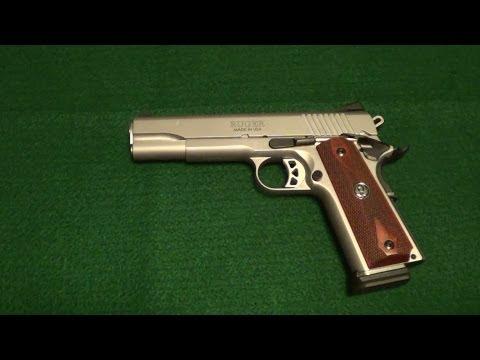 Ruger SR1911 45acp Pistol