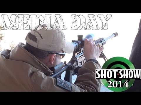 SHOT Show 2014 Media Day Range Footage