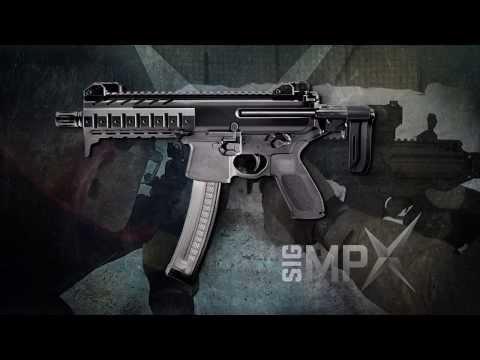 Sig Sauer MPX Submachine Gun