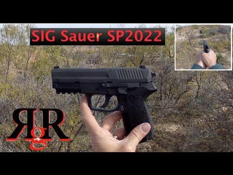 Sig Sauer SP2022 Range Review