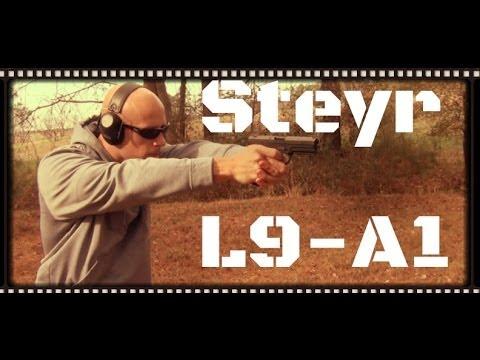 Steyr L9-A1 Pistol Review