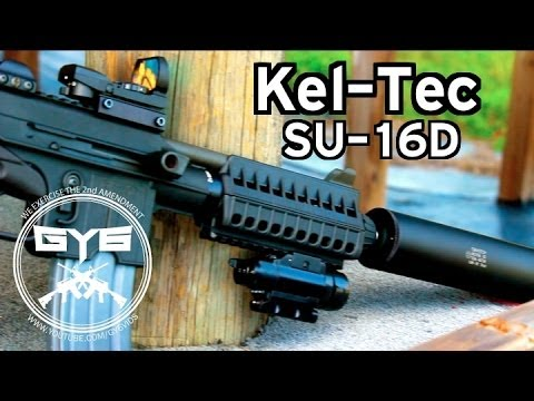 Suppressed Kel-Tec SU-16D