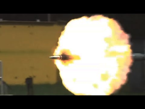 Tanks Firing In Slow Motion