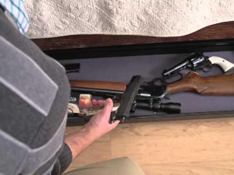 Under Bed Gun Storage