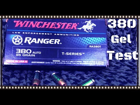 Ammo Test – Winchester Ranger T 380 ACP Ammo