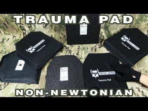 AR500 Armor Blunt Force Trauma Pad for Body Armor