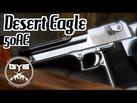 Desert Eagle 50AE - AK74 Rifle - Exploding Targets