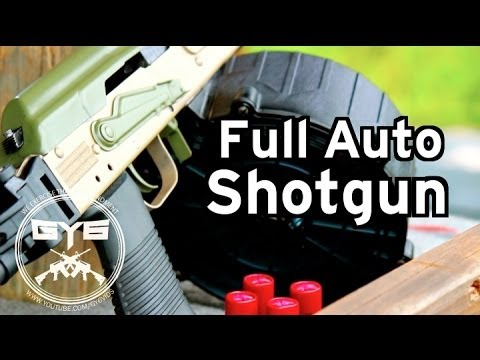 Full Auto Saiga Shotgun