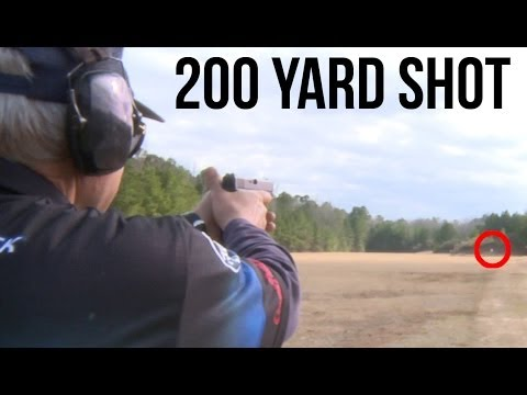 Glock 41 200 Yard Shot