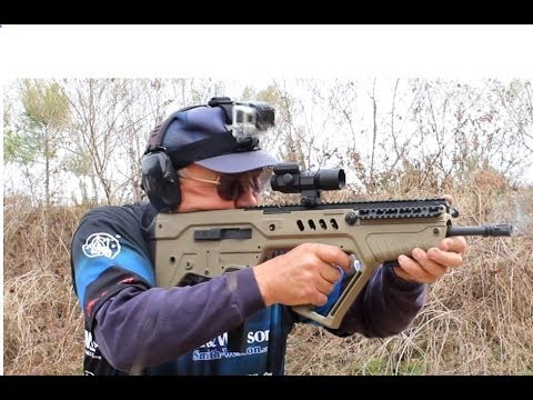 IWI Tavor 9mm Speed Shooting