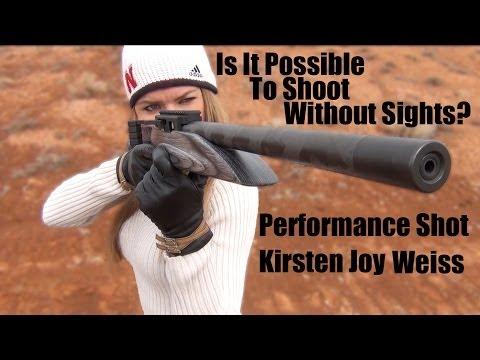 Kirsten Joy Weiss – Sightless Trick Shot