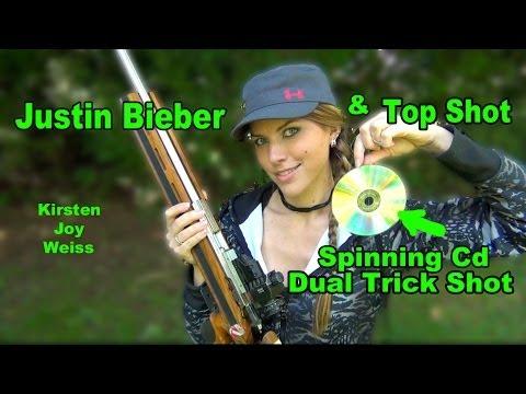 Kirsten Joy Weiss – Spinning CD Trick Shot