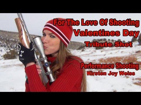 Kirsten Joy Weiss – Valentine's Day Trick Shot